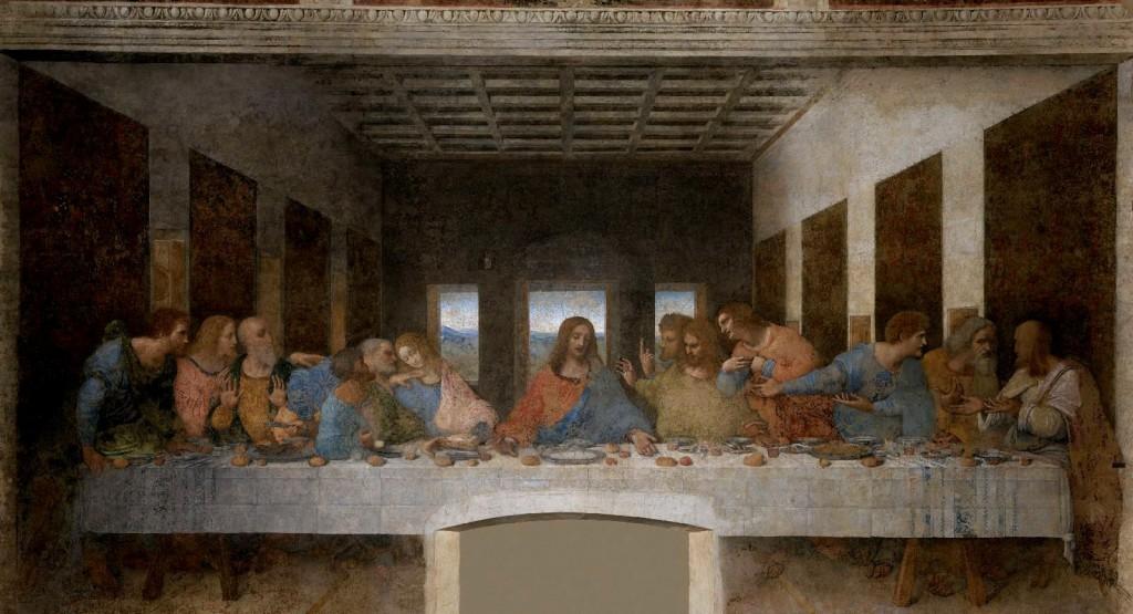 The Last Supper by Leonardo da Vinci - Mural / La Ultima Cena de Leonardo da Vinci