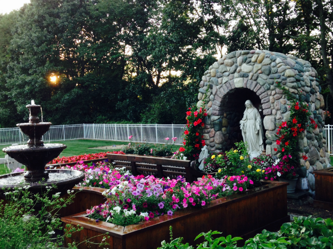 First Place Winner for The Catholic Company's 2015 Catholic Garden Contest