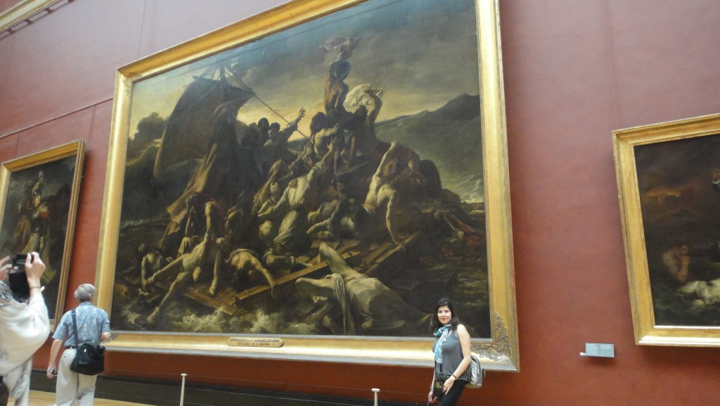 Visiting the Raft of the Medusa at the Louvre