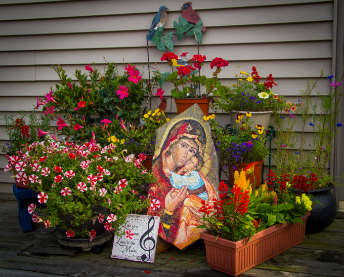 Third Place Winner to The Catholic Company's 2015Catholic Garden Photo Contest