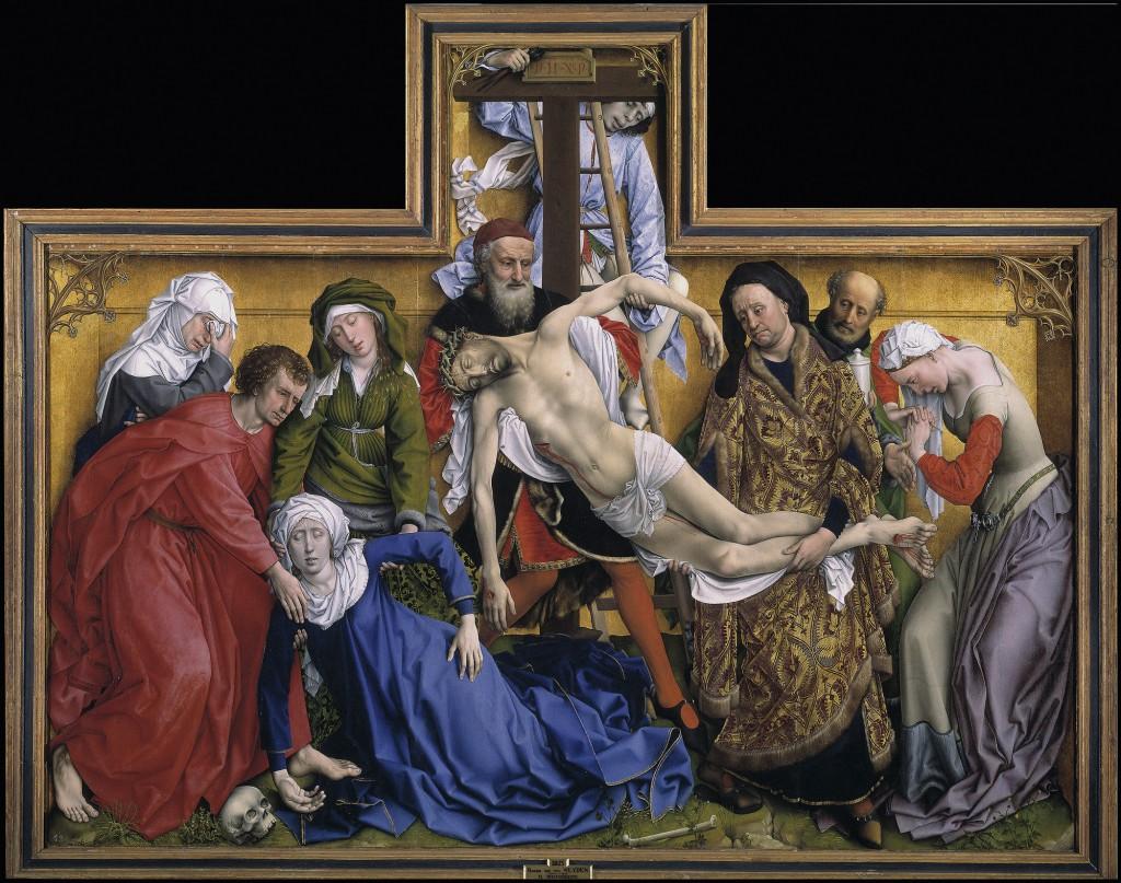 The Descent from the Cross by Van der Weyden