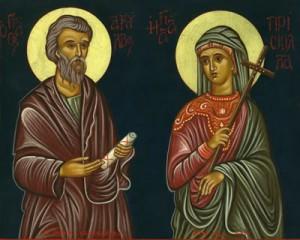 Saint Priscilla, Patron Saint of Good Marriages