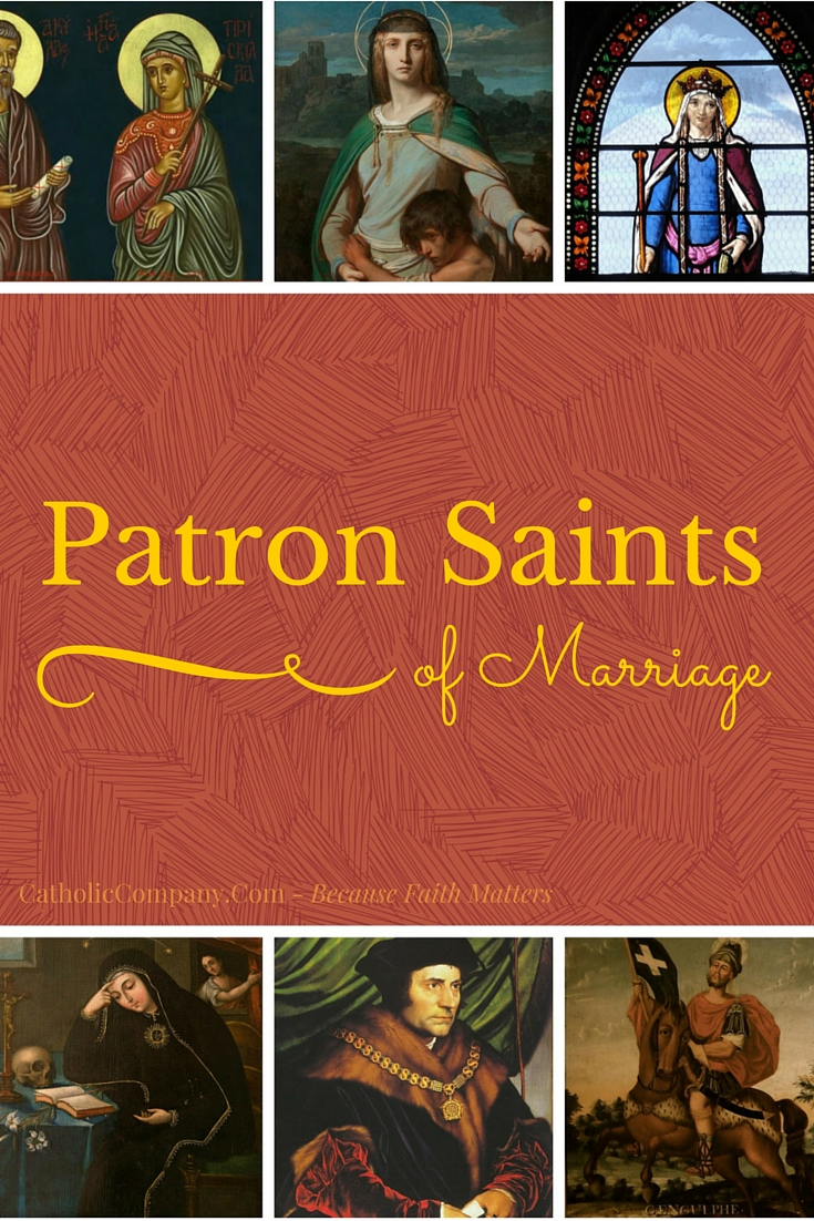 Heroes and Homemakers: 10 Patron Saints of Marriage | GetFed