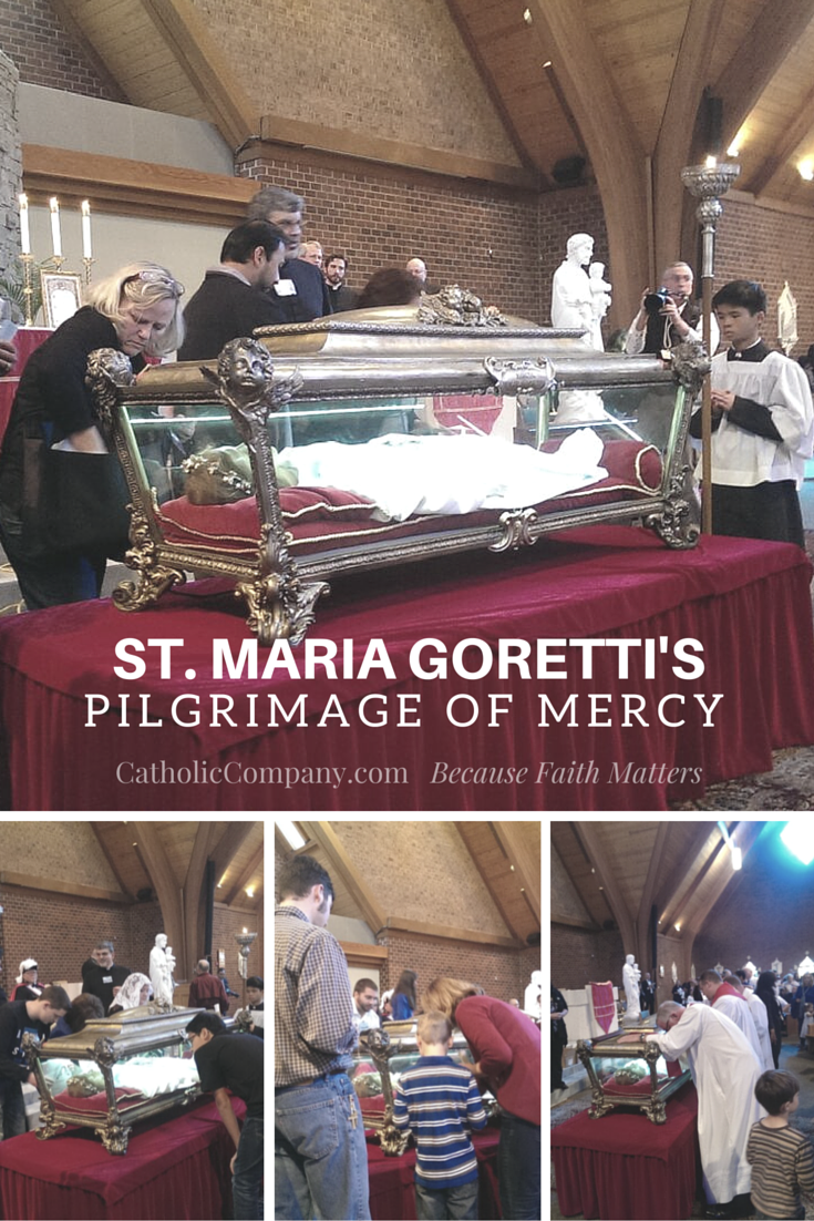 Photos & Video from St. Maria Goretti's Pilgrimage of Mercy in Charlotte