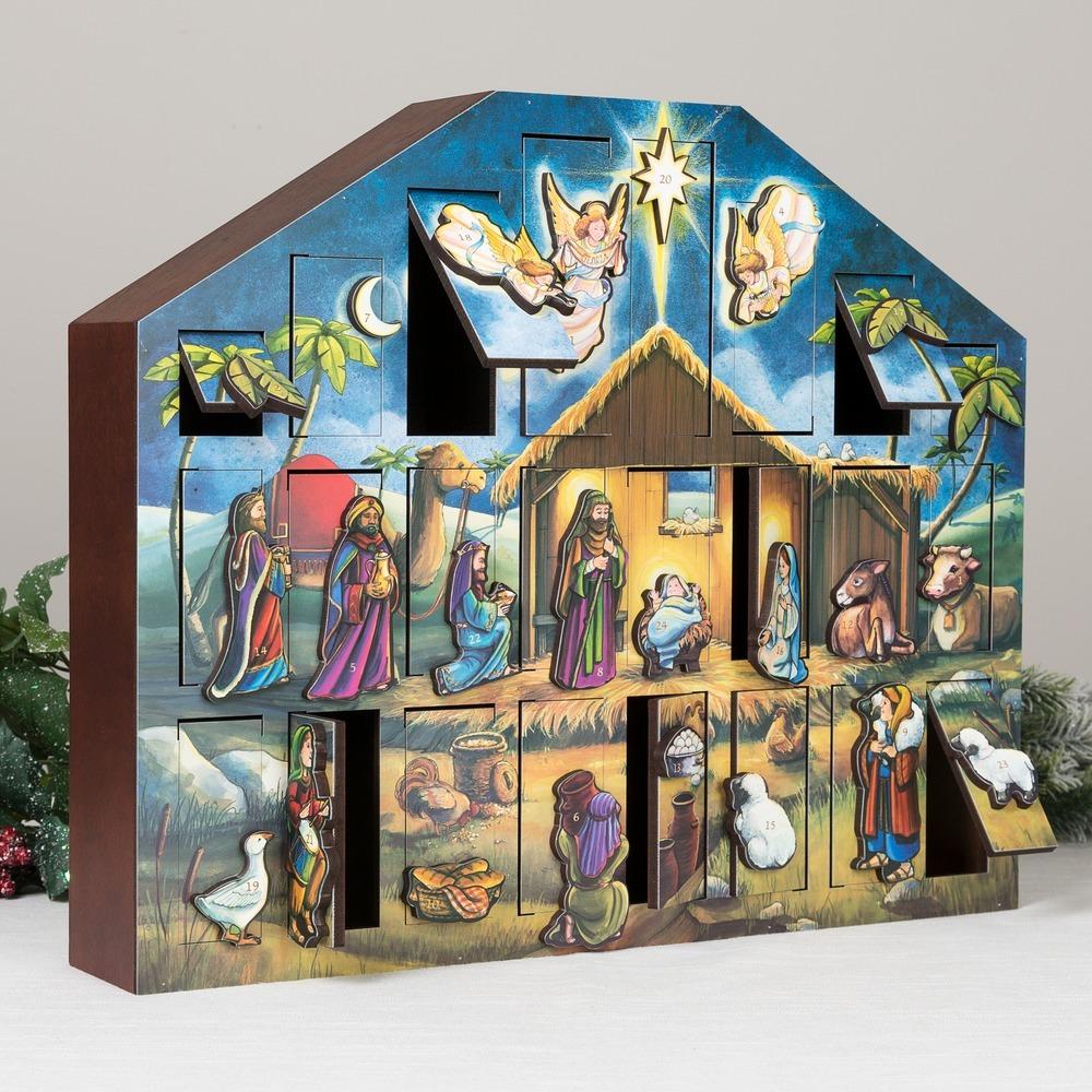 Wooden Heirloom Advent Calendar