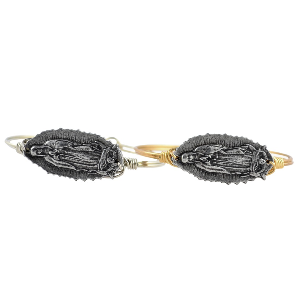 Our Lady of Guadalupe Bangle Bracelet