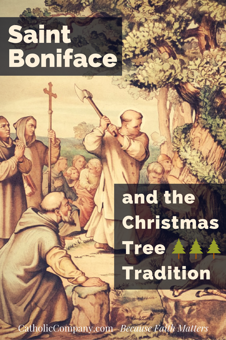 St. Boniface and the Christmas Tree Tradition