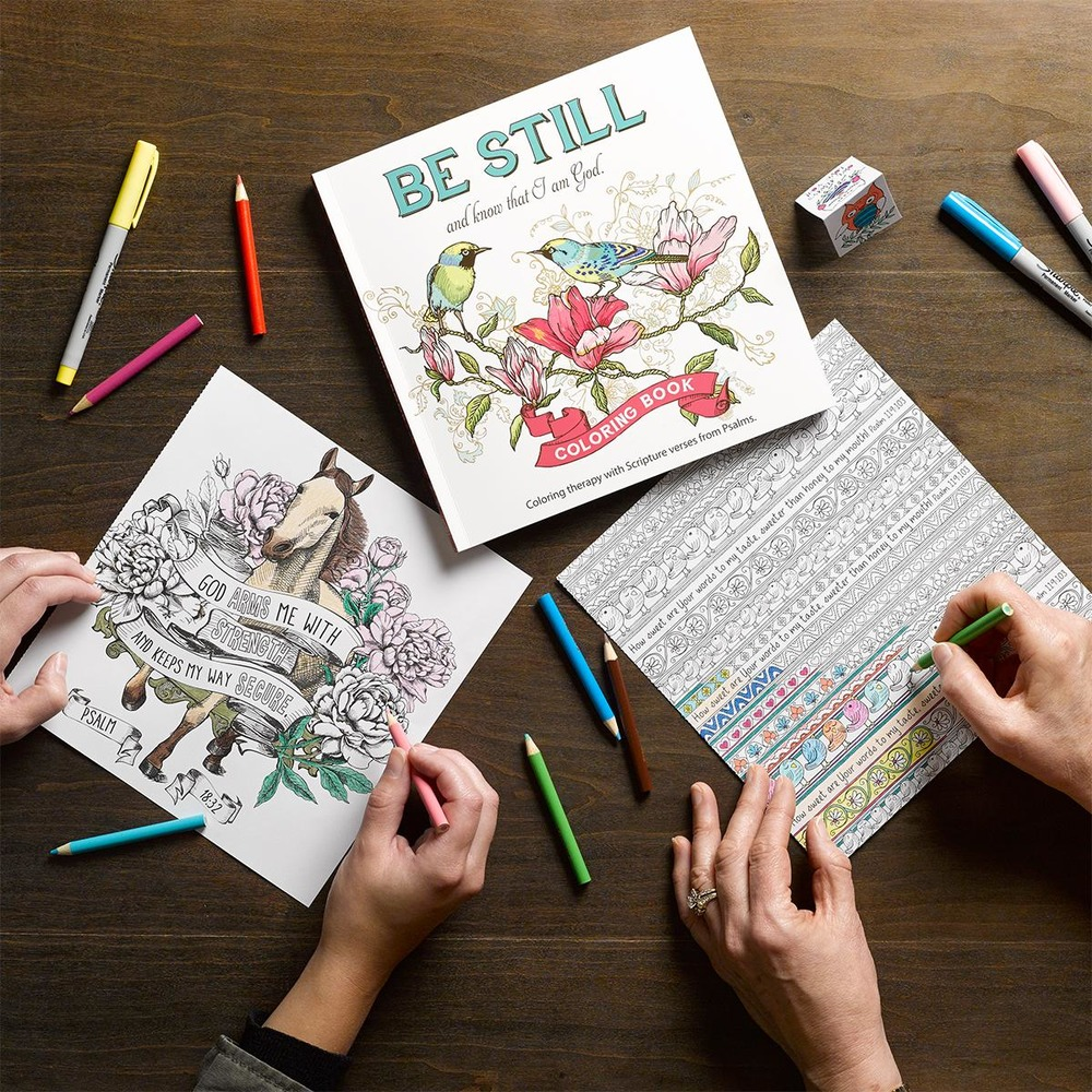 The Surprising Delightfulness and Benefits of Adult Coloring Books