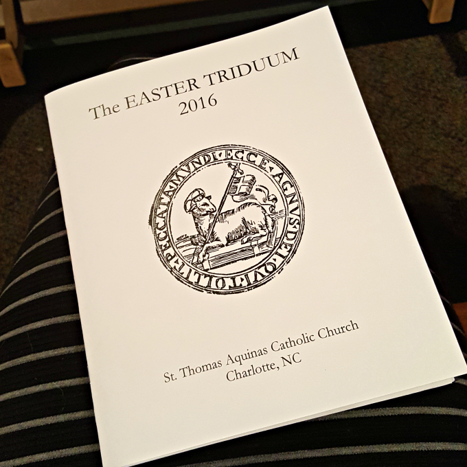 A Journey through the Easter Triduum