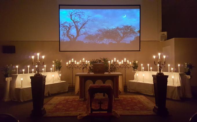Altar of Repose for Holy Thursday