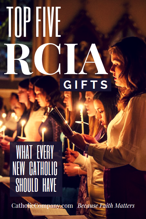 Our top 5 must have R.C.I.A. gifts for those being received into the Catholic Church