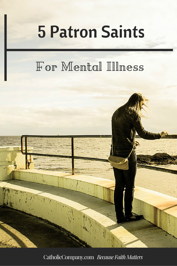 Learn about 5 patron saints of mental illness