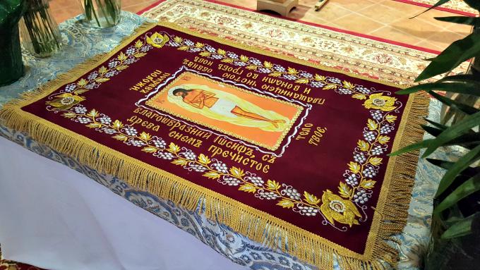 Venerating the Burial Shroud on Good Friday