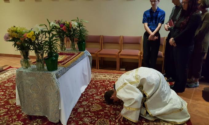 Venerating the Burial Shroud