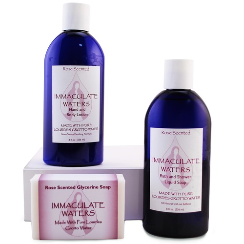 Immacualate Waters Soap & Lotion gift set