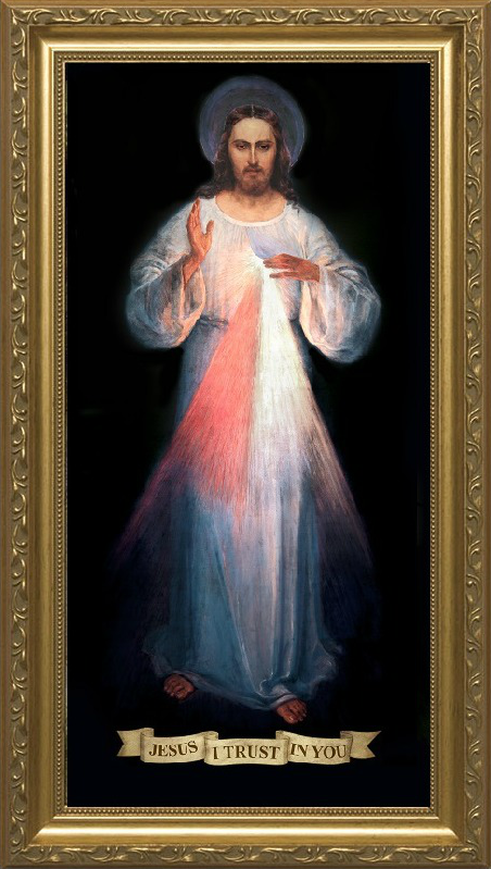 The image Jesus asked St. Faustina to have venerated to implore his Divine Mercy on souls