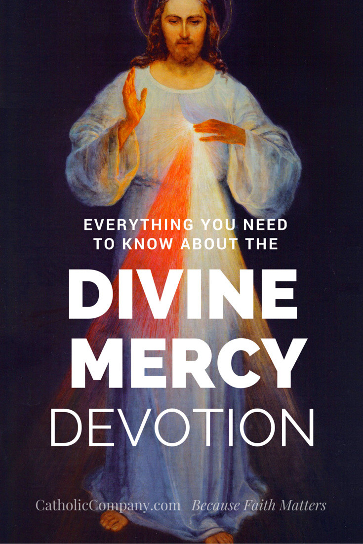 Interesting facts about the Divine Mercy devotion, its history and many components