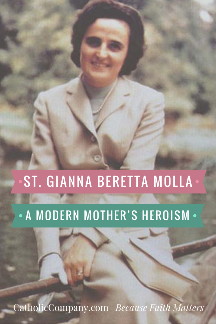 The Heroic Life of St. Gianna Molla, medical doctor, committed Catholic, wife, and mother of four.