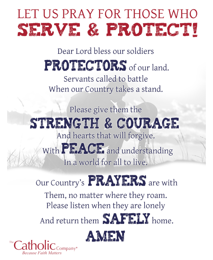 A prayer for our U.S. troops