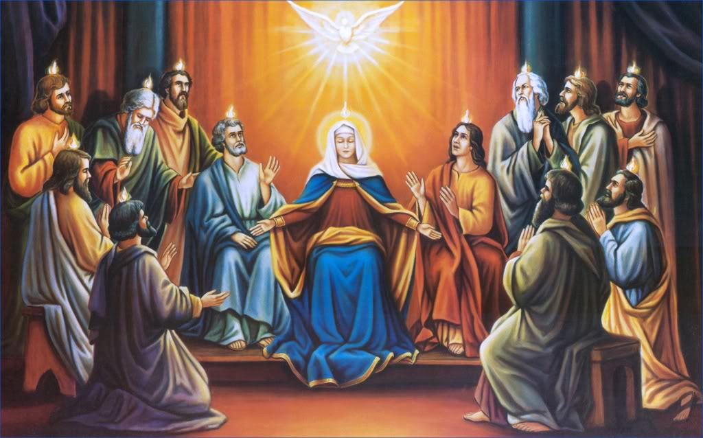 Novena to the Holy Spirit in preparation for Pentecost