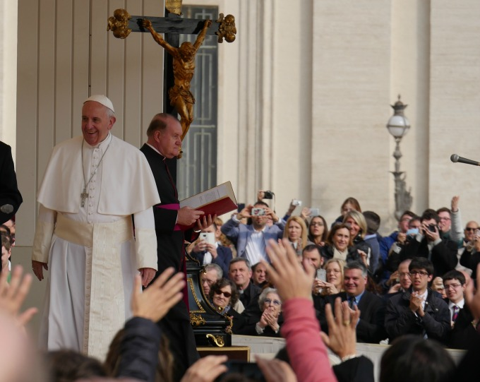 An audience with Pope Francis