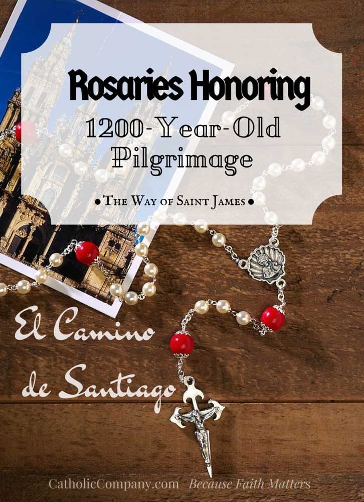One-of-a-kind rosaries made to honor an ancient, beloved pilgrimage route: the famous Way of Saint James