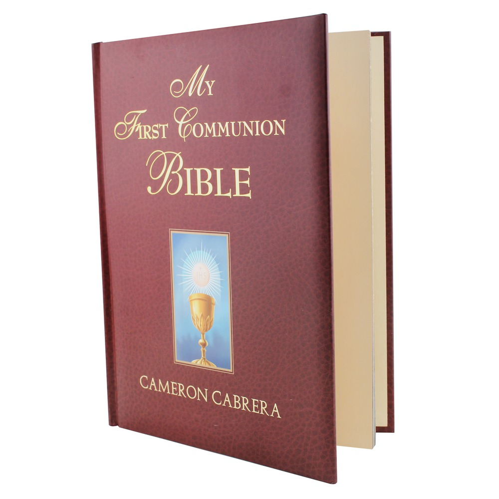 Mi Biblia de Primera Comunión # 3021713, 3021714 . En español: 1055848 ,1055847 .
