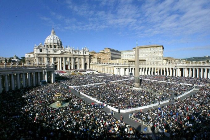 The Year of Mercy at Saint Peter's Square