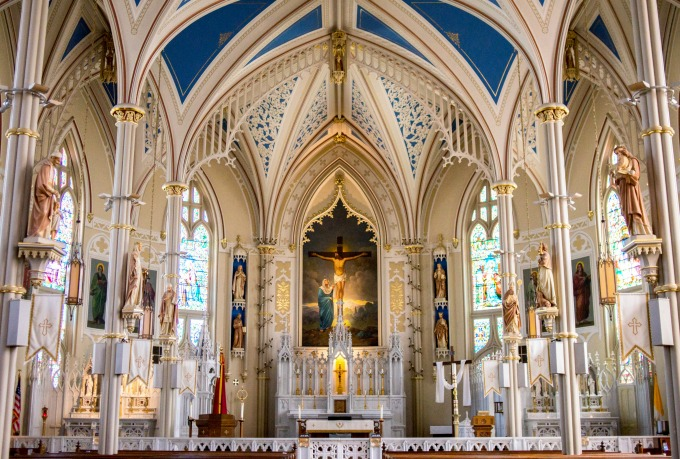 Attend daily Mass in honor of a particular saint's feast day, especially if you are seeking their intercession