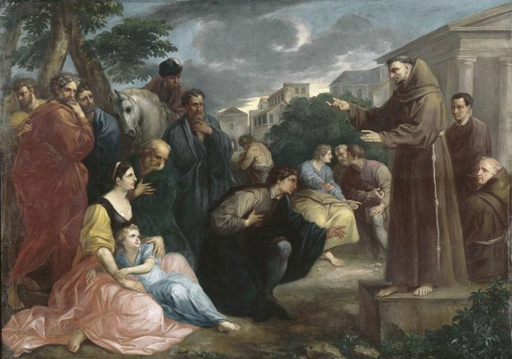 The gift of Saint Anthony: his profound preaching