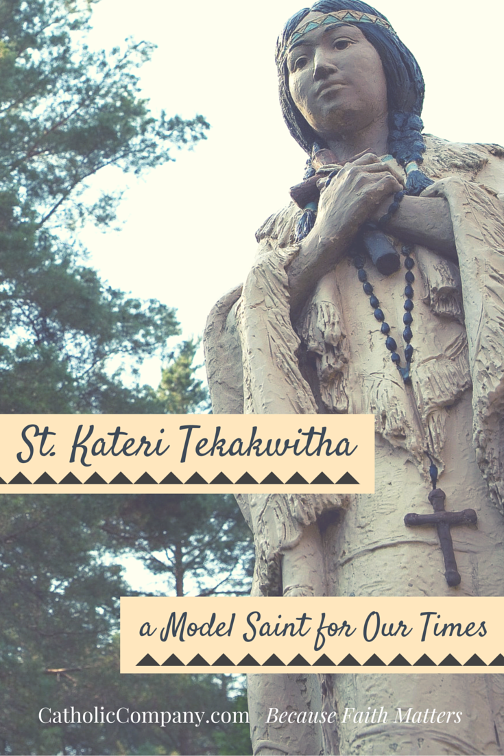 St. Kateri Tekakwitha, the first Native American saint, endured a life of pain and trial, and triumphed in her faith in Christ. Read her story.