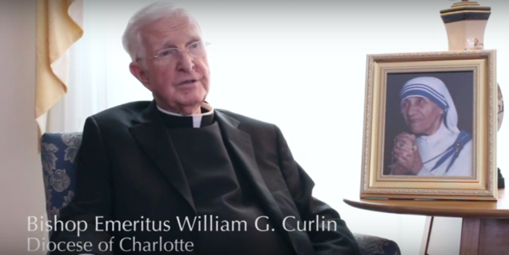 The Catholic Company interviews Bishop Curlin on his relationship with Mother Teresa