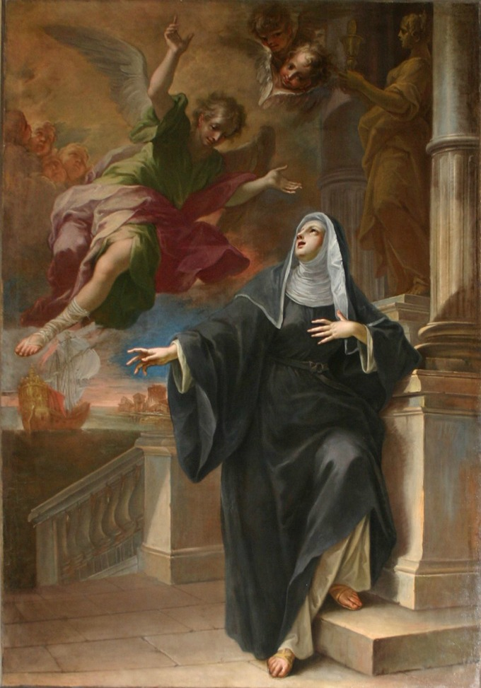 Saint Monica was a woman who poured herself into prayer and the love of God
