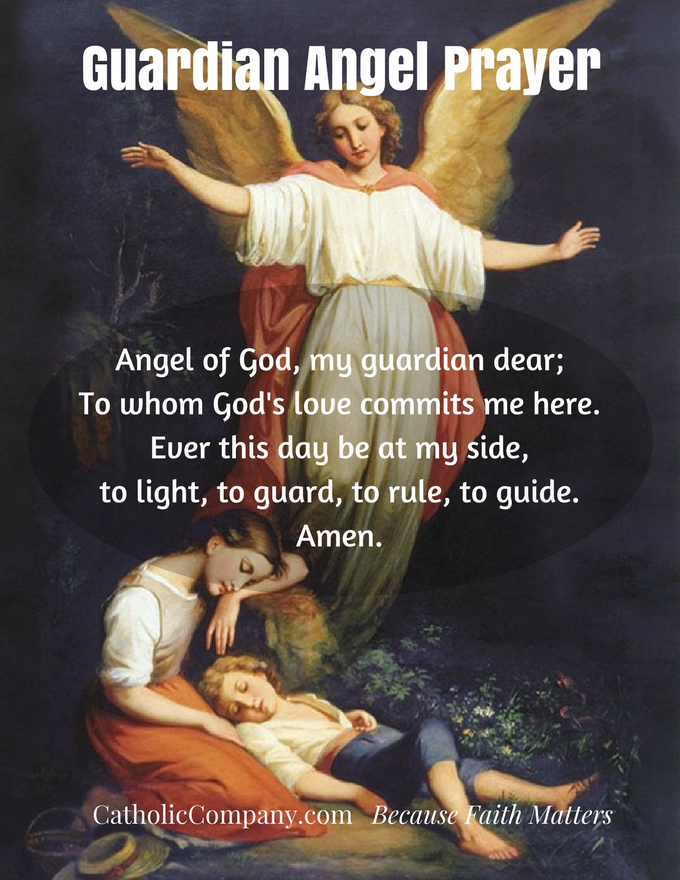 This beloved prayer is very important to teach to every child.