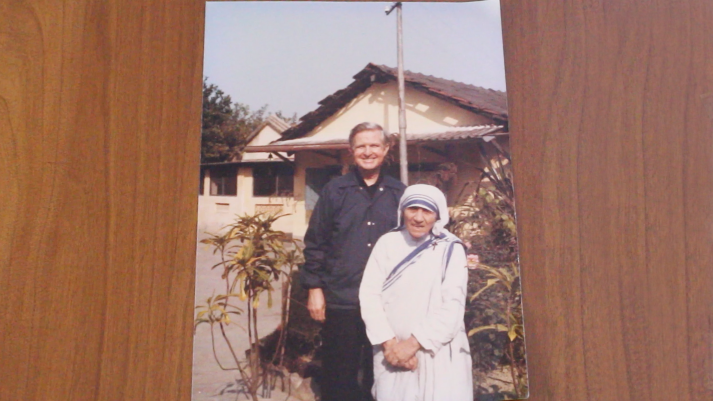 From Bishop Curlin's stack of photos with Mother Teresa