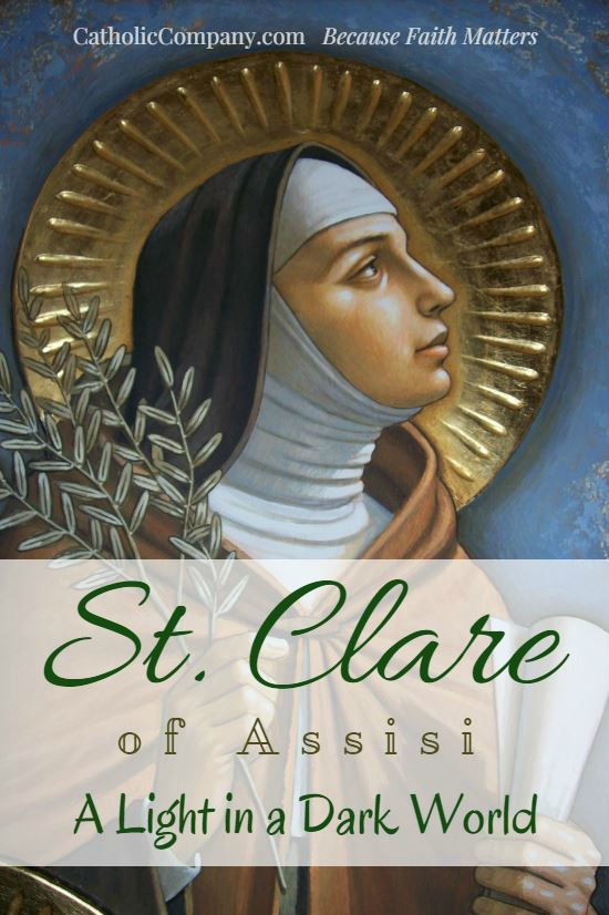 Saint Clare is said to have been the most perfect imitator of Saint Francis. Read more about her life!