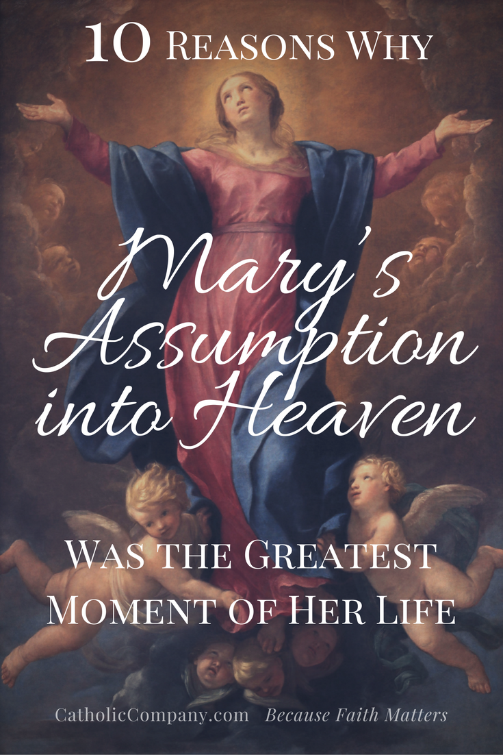 The Solemnity of the Assumption is the greatest of all Marian feasts. Why? Learn more at the link!
