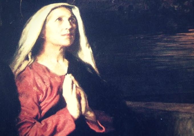 Saint Monica wept and prayed for the conversion of her son. Even her tears were a prayer.