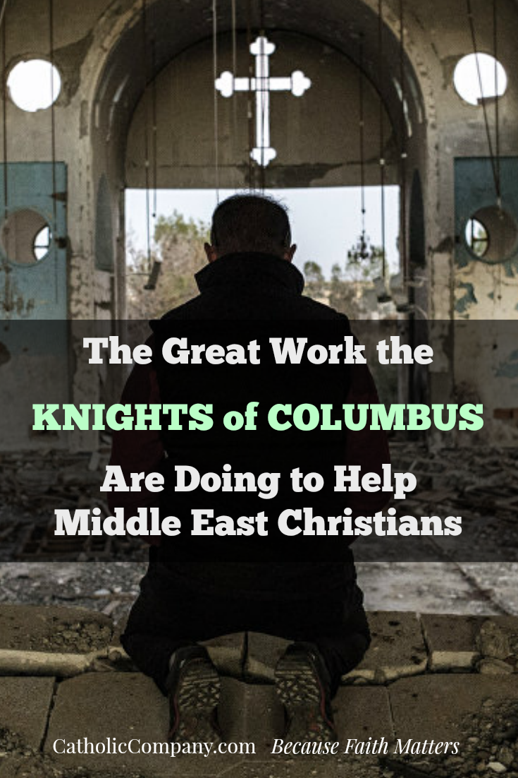 In the face of global indifference, the Knights of Columbus are fighting for Middle East Christians. Join them in their fight.