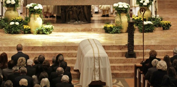 This time, I decided to stay for the funeral, even though I did not know the man who was being buried.