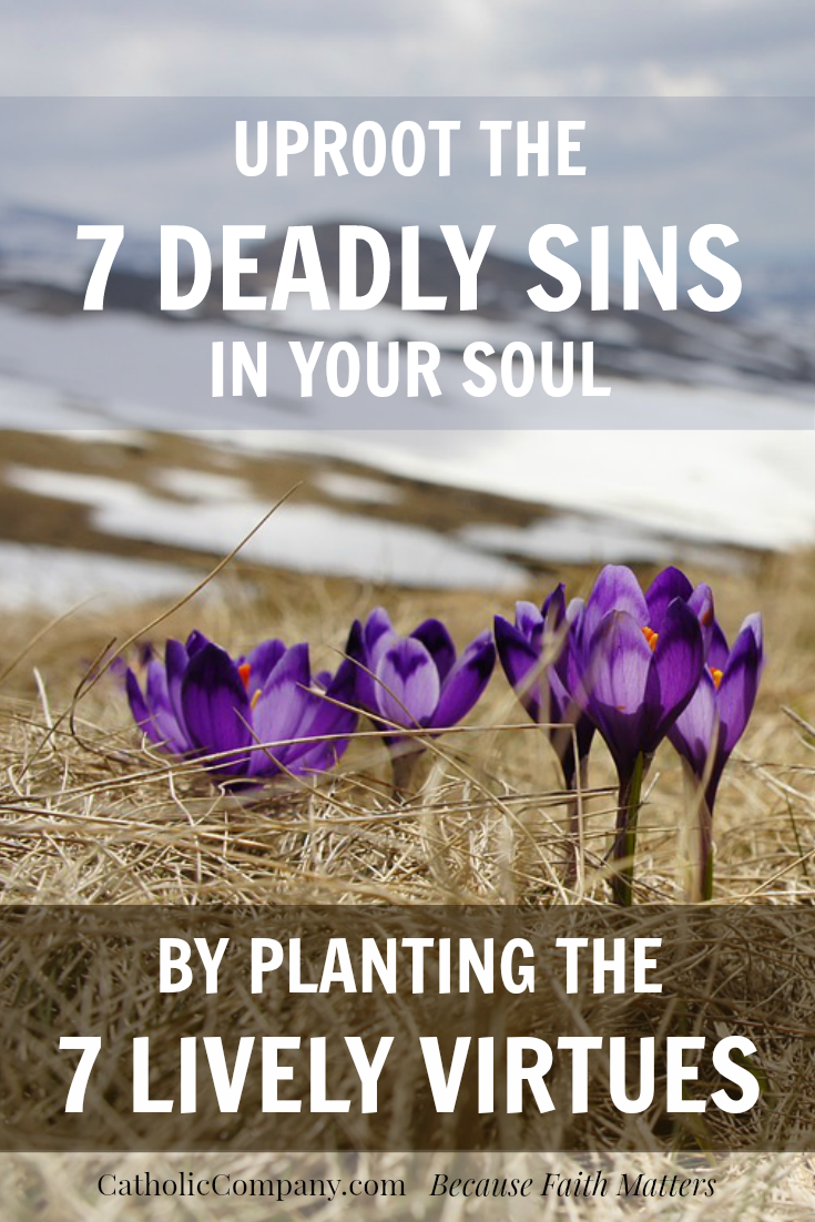 The secret to conquering the 7 deadly sins