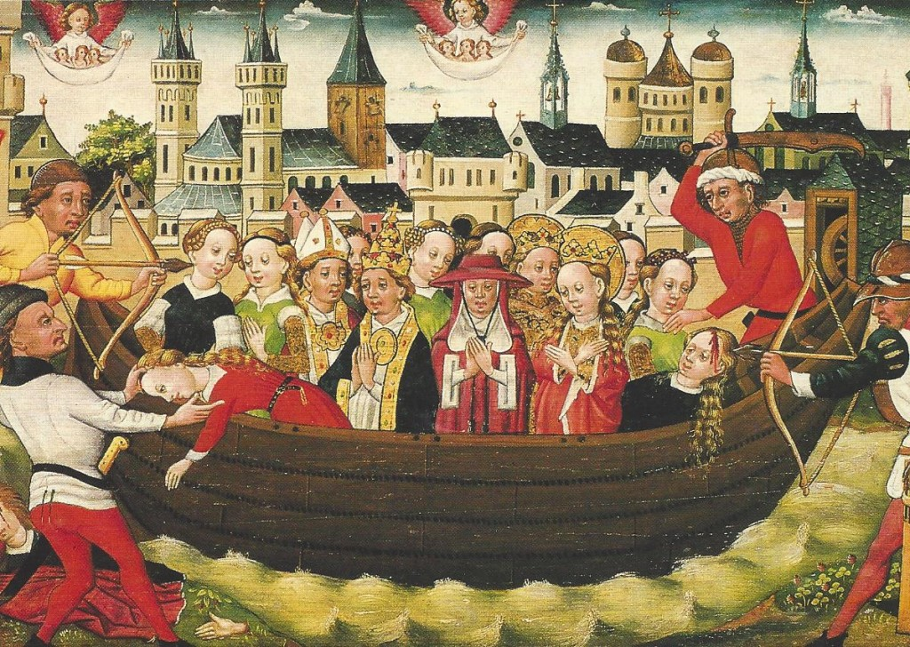 The life of St. Ursula and her companions