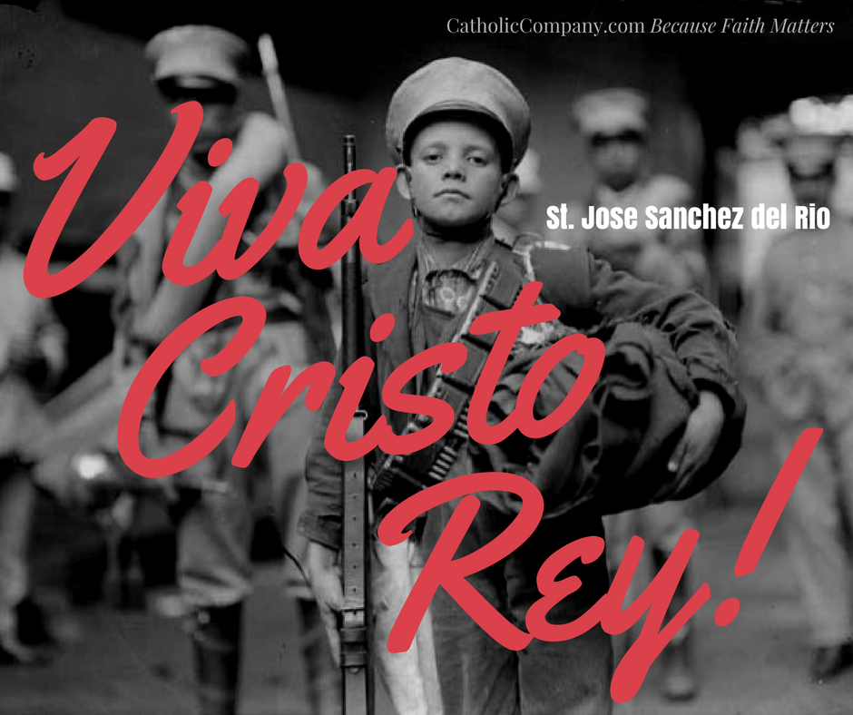 The story of St. Jose Sanchez del Rio, child soldier and martyr of the Cristero War