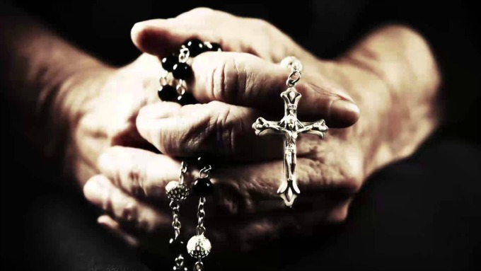 Praying the rosary is a beautiful to become more contemplative and to focus on God rather than oneself