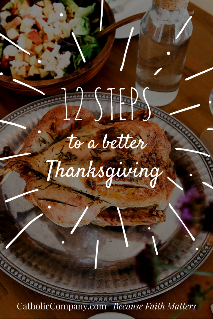 12 fun steps to making your thanksgiving gathering the best one yet.