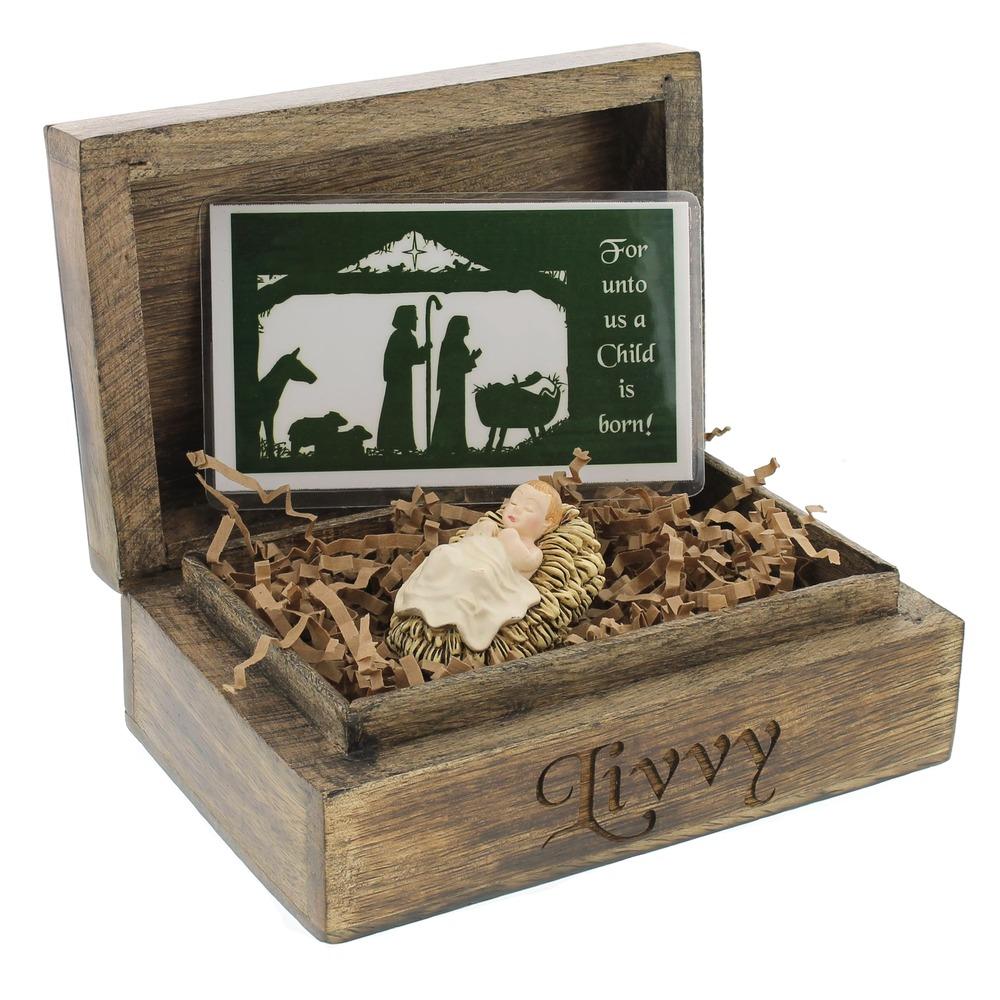 Personalized Christ Child Gift Set