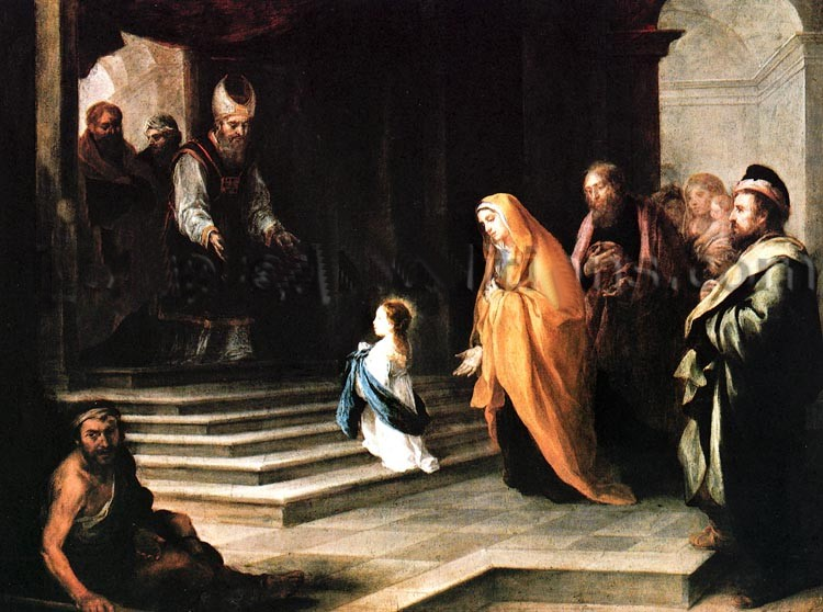 Presentation of the Virgin Mary in the Temple at Jerusalem
