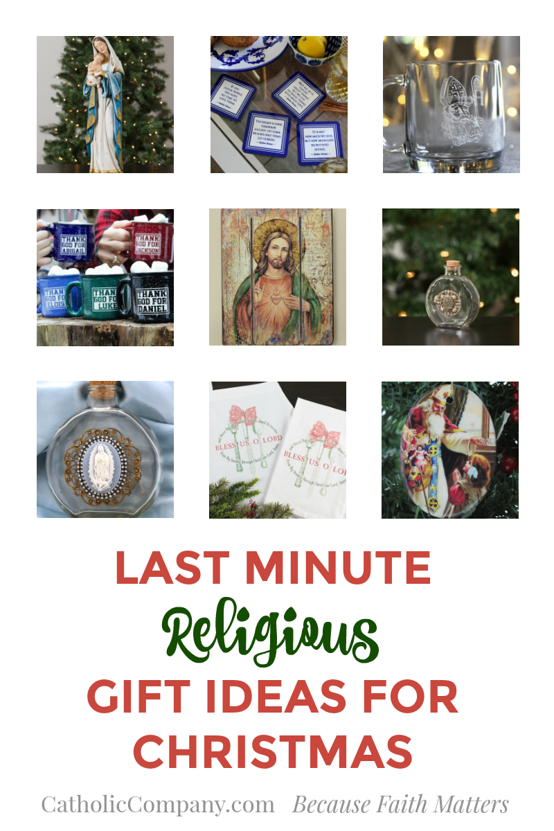 11 Last Minute Religious Gift Ideas for Christmas