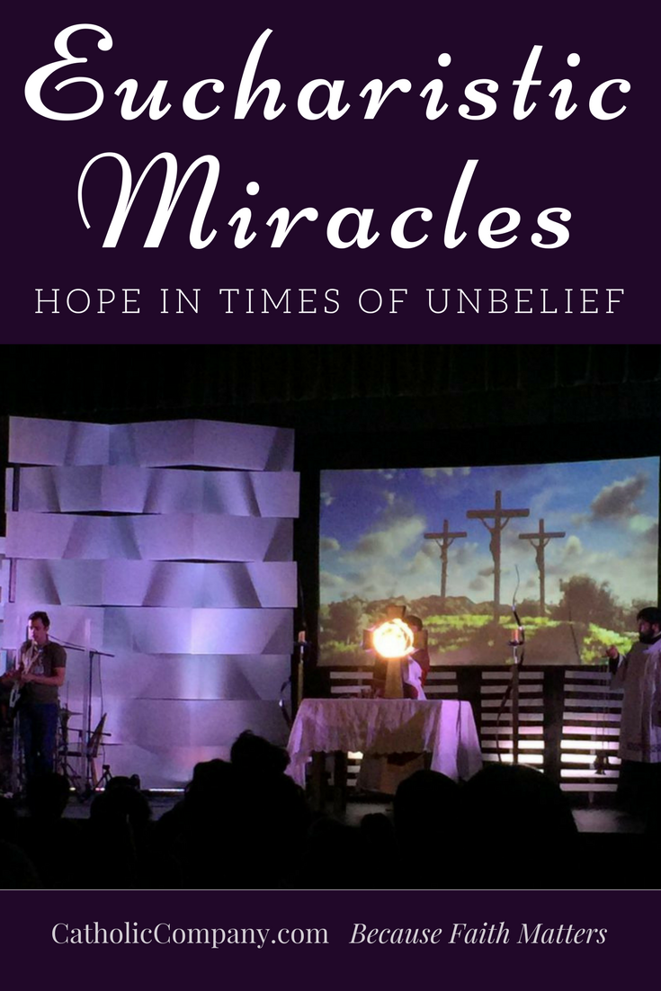 An eyewitness account of a Eucharistic Miracle at a youth retreat in the summer of 2016