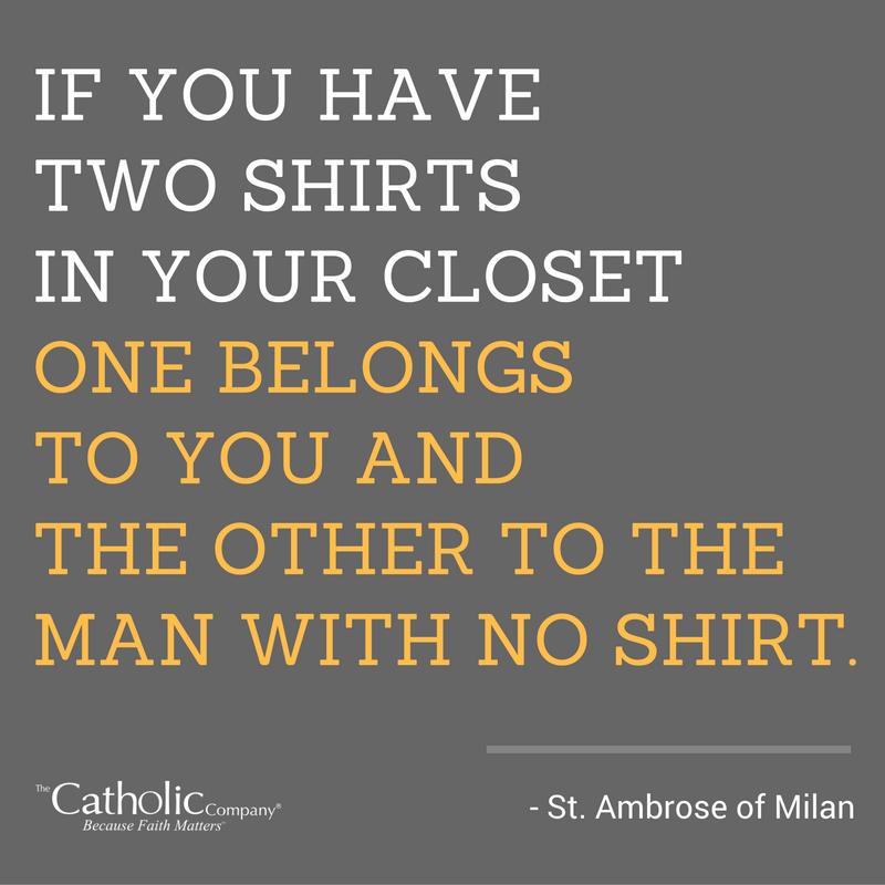 St. Ambrose quote